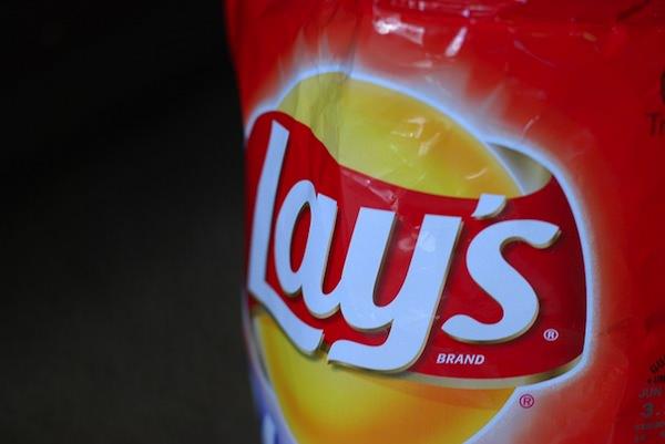 Potato chips bag