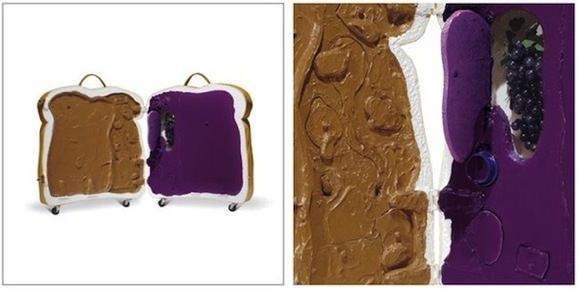 食パン型スーツケース