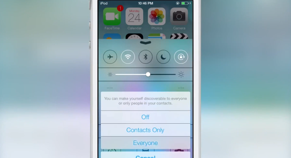 AirDrop for iOS7
