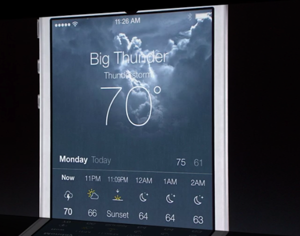 Weather ios7