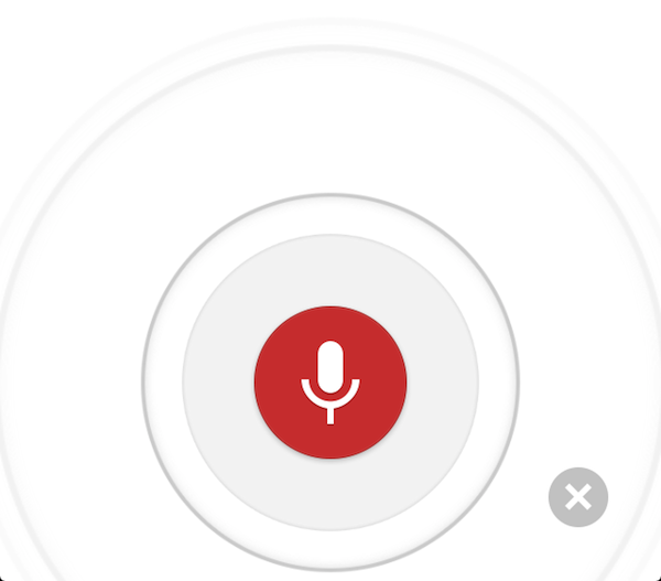 iOS版Google Chromeの音声検索対応