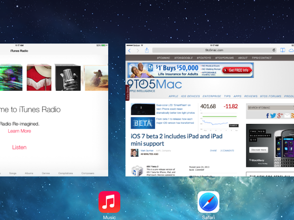 iOS7 for iPad