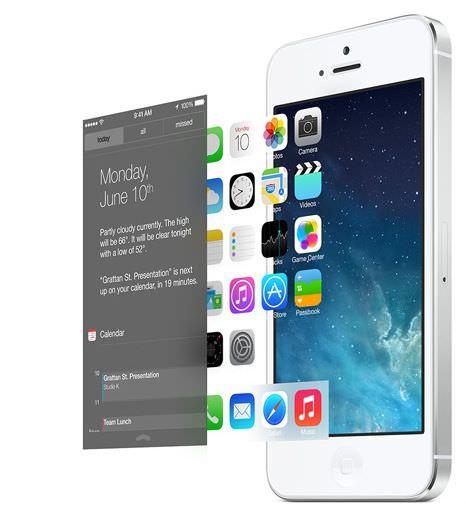 iOS 7がAndroidを参考にしたであろう、7つの要素