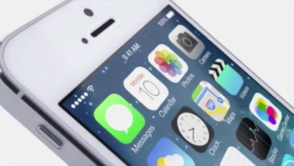 iOS 7 時計がリアルタイム