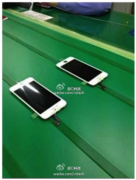 iPhone 5sフロントパネルが流出