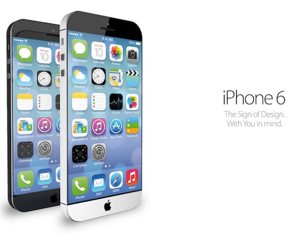 iPhone 6のコンセプトイメージ
