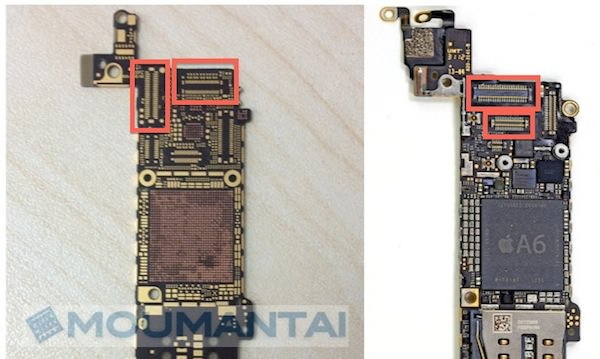 iPhone5S ロジックボード
