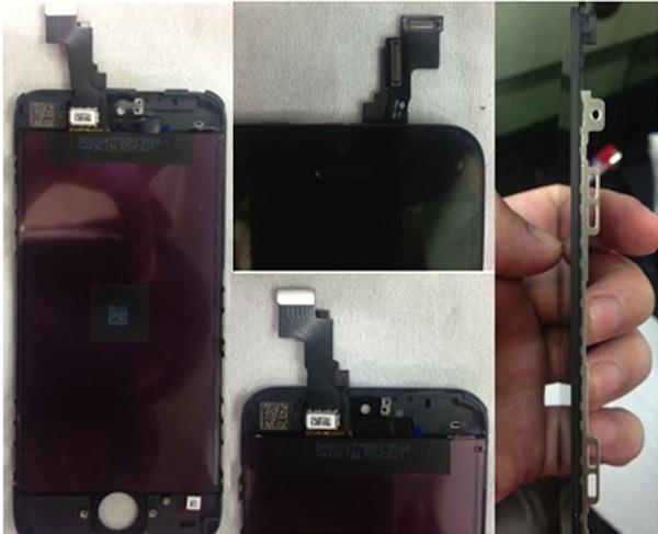 iPhone5S display