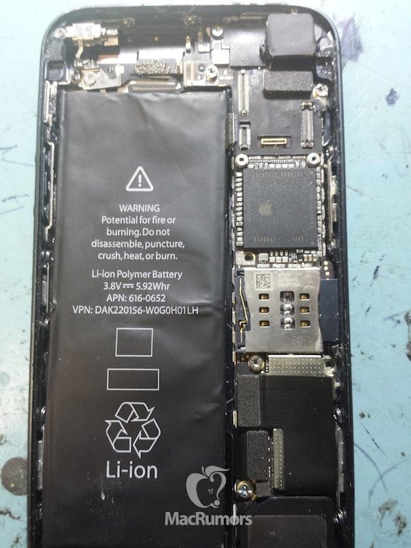 iPhone 5s 試作機の写真
