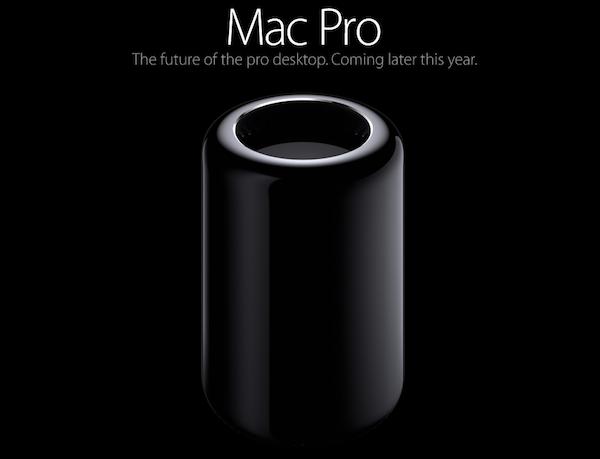 2013年のWWDCで発表された新しいMacPro