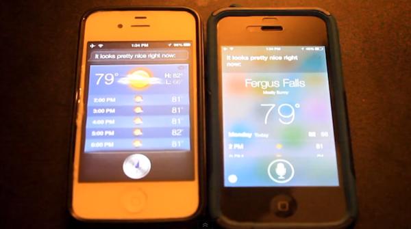 Siri voice iOS7 beta 2