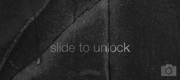iOS7 Slide to unlock