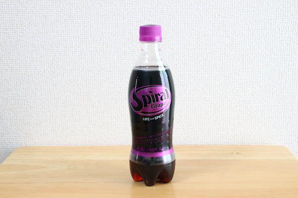 アサヒ飲料「スパイラルグレープ」