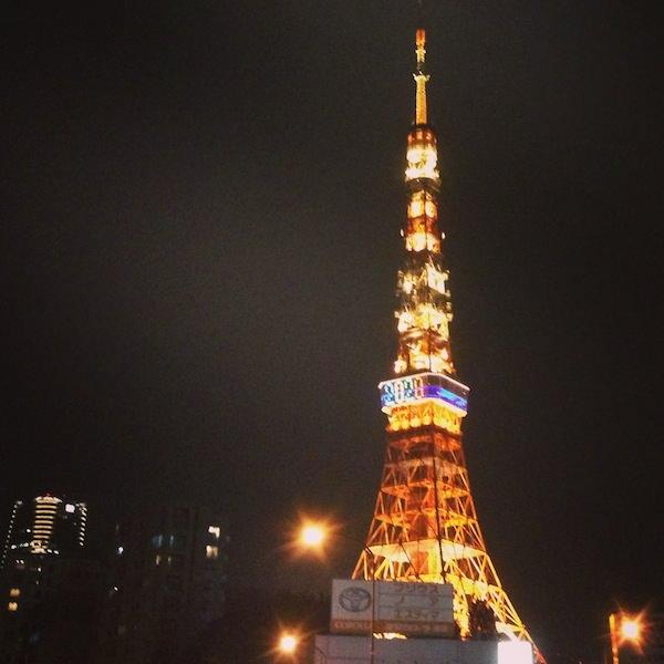 東京タワーオリンピック仕様?