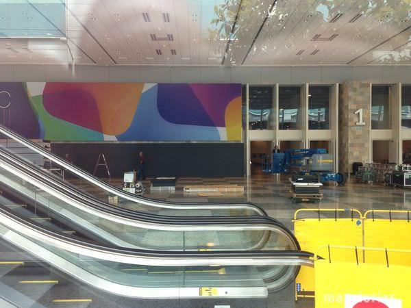 WWDC2013の開催に向けて準備が始まる!