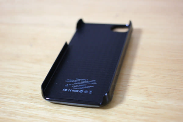 MiLi Power Spring 5 iPhone5用バッテリーケース ブラック