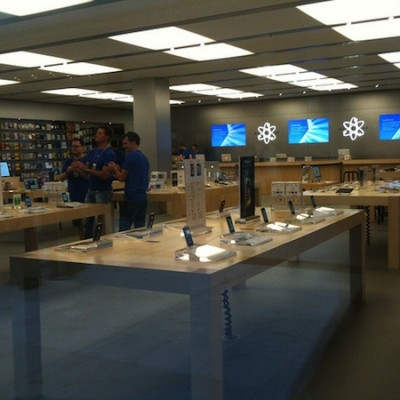 Inside the Apple Store