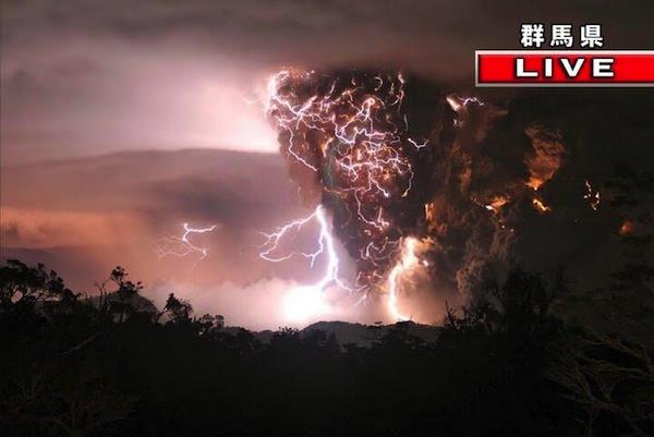 群馬県の雷