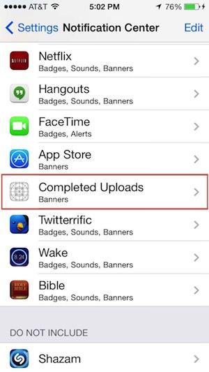 iOS 7 beta 4で変わった機能11選