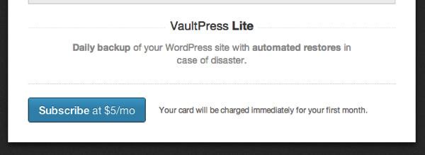 VaultPresを使ってWordpressブログを安全にバックアップ
