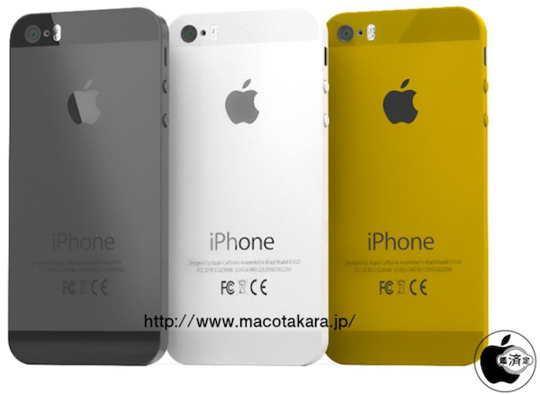 iPhone 5s 5c gold