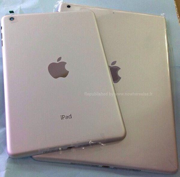 iPad 5 white model