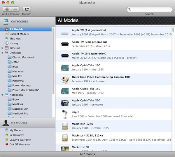 Mac tracker