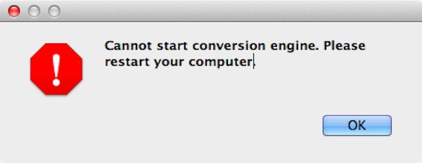 Please start your convesation engine