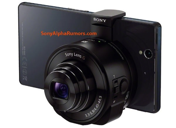 Sony iphone zoom lens