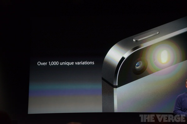 iPhone 5sのカメラ性能
