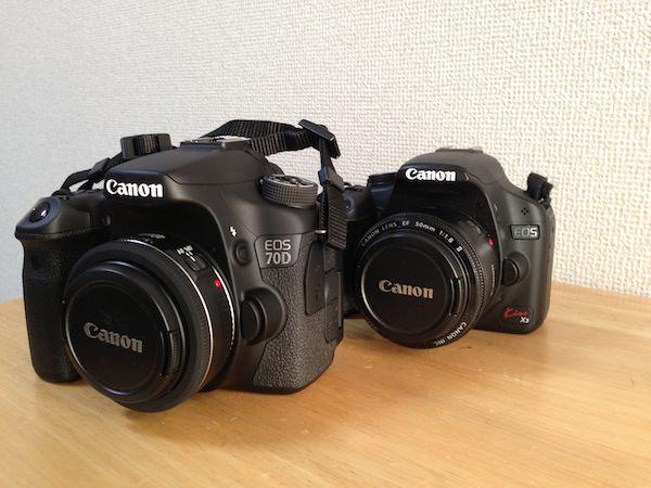 Canon EOS Kiss X3 70D