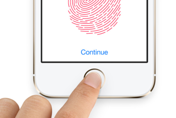 Fingerprint sensor touchid