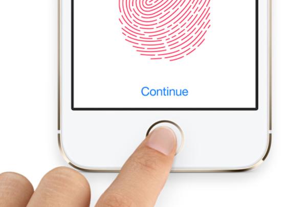 Fingerprint sensor touchid