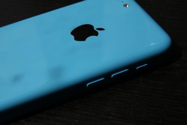 IPhone 5c docomo blue