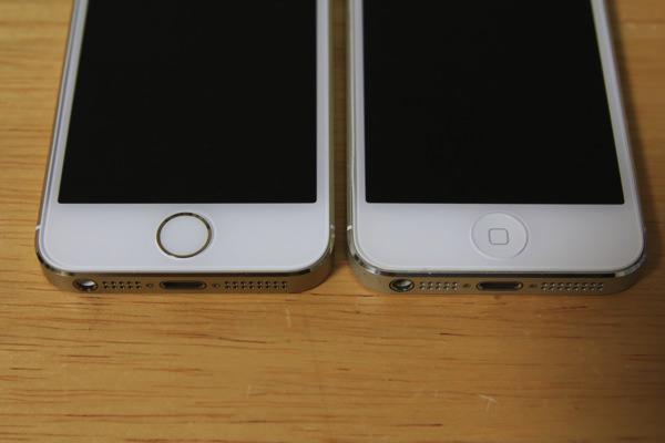 iPhone 5s/5 を写真で比較してみる