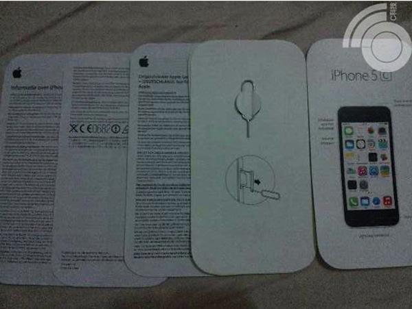 iPhone 5cのクイックスタートガイド