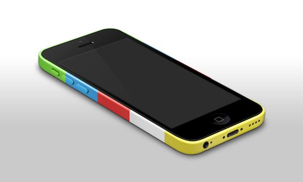 iphone5c psd