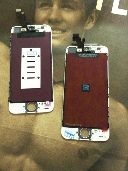 iPhone 5s フロントパネル