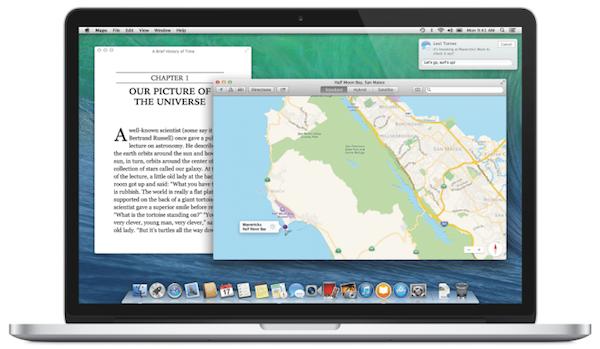 OS X mavericks preview