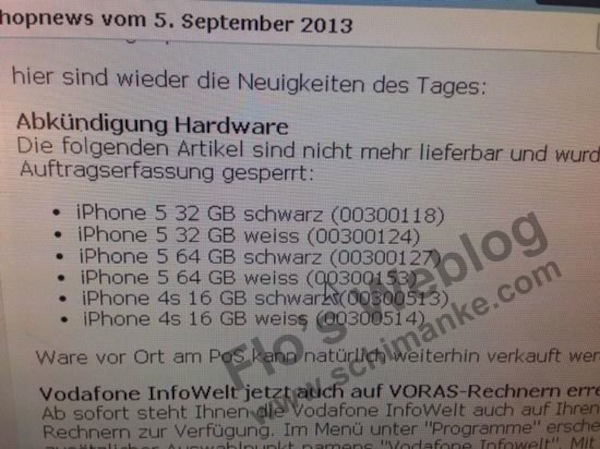 Vodafone ending iphone4s