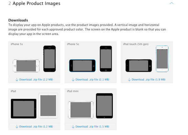 Apple Product Images