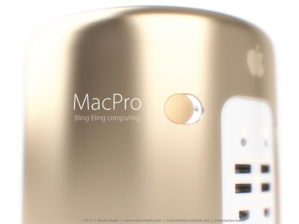Gold Mac Pro