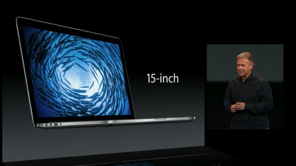 MacBookPro Retina 15インチモデル