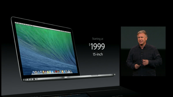 MacBookPro Retina 15インチ