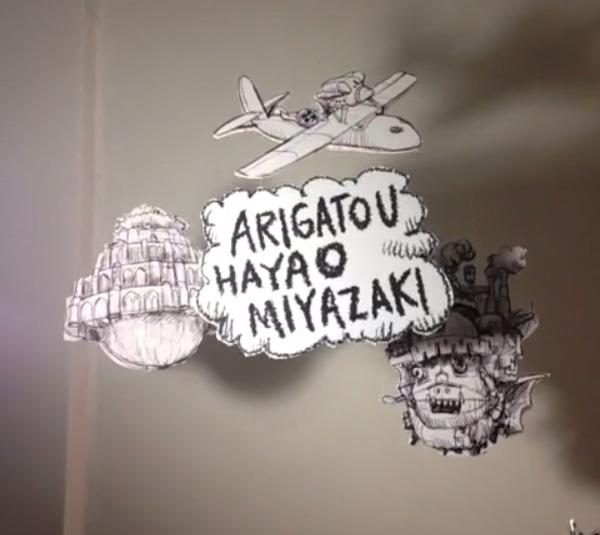 Arigato miyazaki