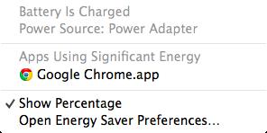 電池持ち OS X Mavericks