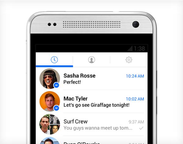 Facebook messenger renewal coming soon