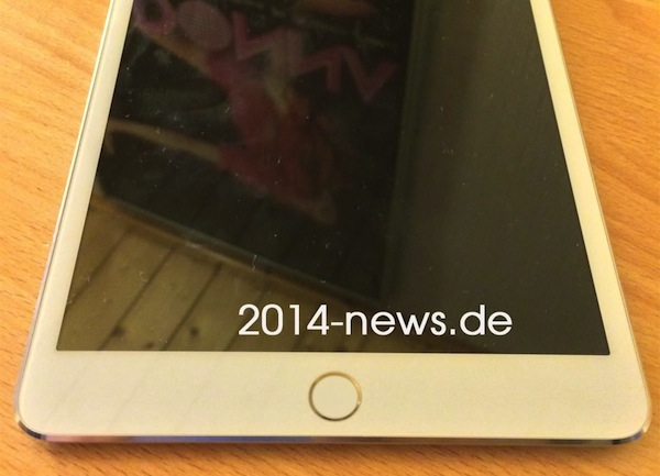 iPad mini 2はやはりTouch IDセンサーを搭載か?!