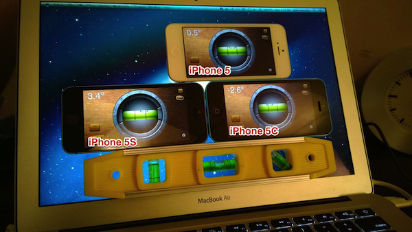 iPhone 5c/5s sensor misbehaving