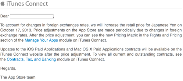 Japanese appstore pricing